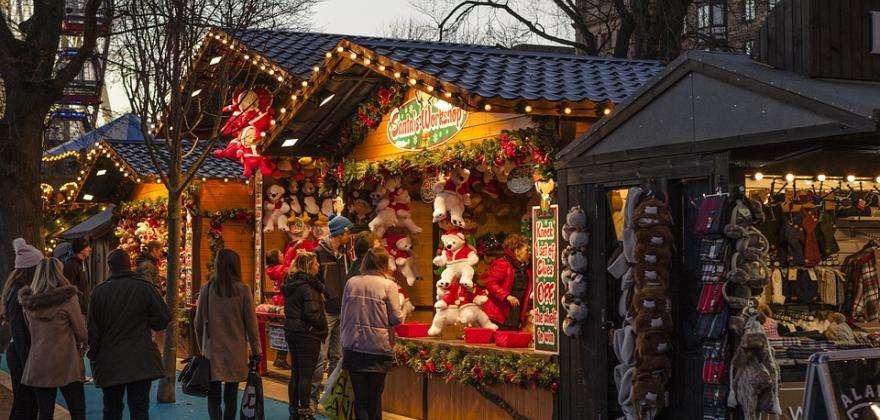 Une tradition bien vivante, les marchés de Noël