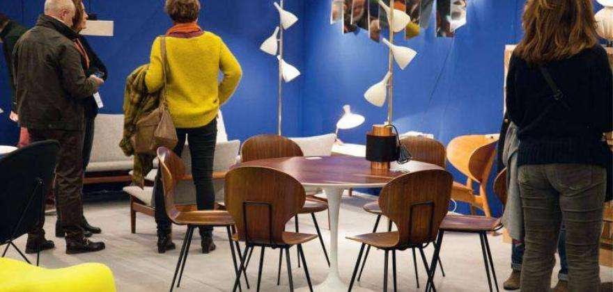 Vintage treasures in the spotlight at the Puces du Design