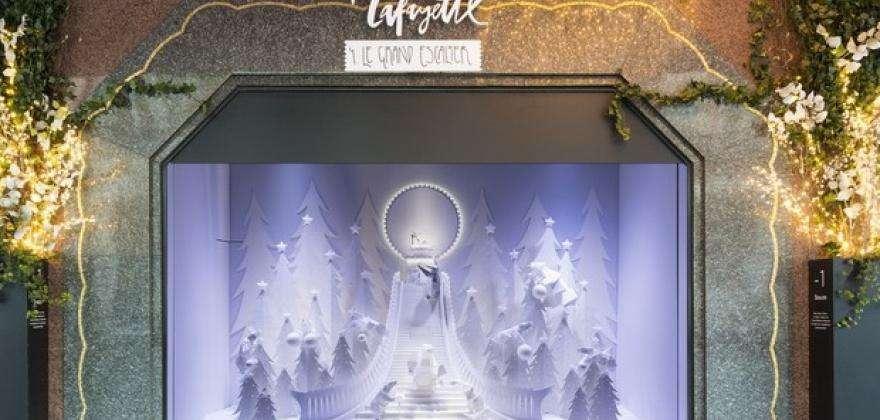 Christmas shopping in Paris