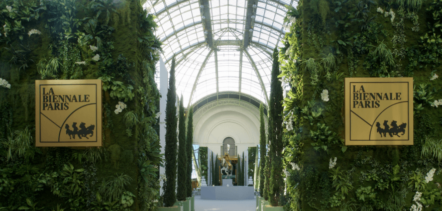 Experience the Biennale Paris at the Grand Palais