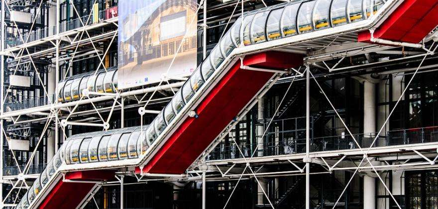 A summer at the Georges Pompidou Centre