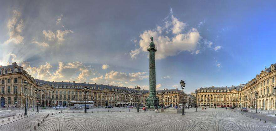 A short stroll from your hotel is the Place Vendôme