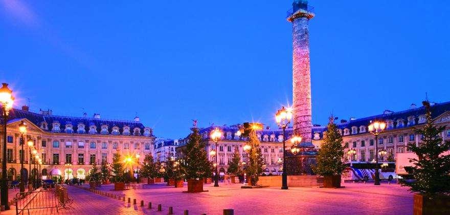 The sparkling magic of the Place Vendôme