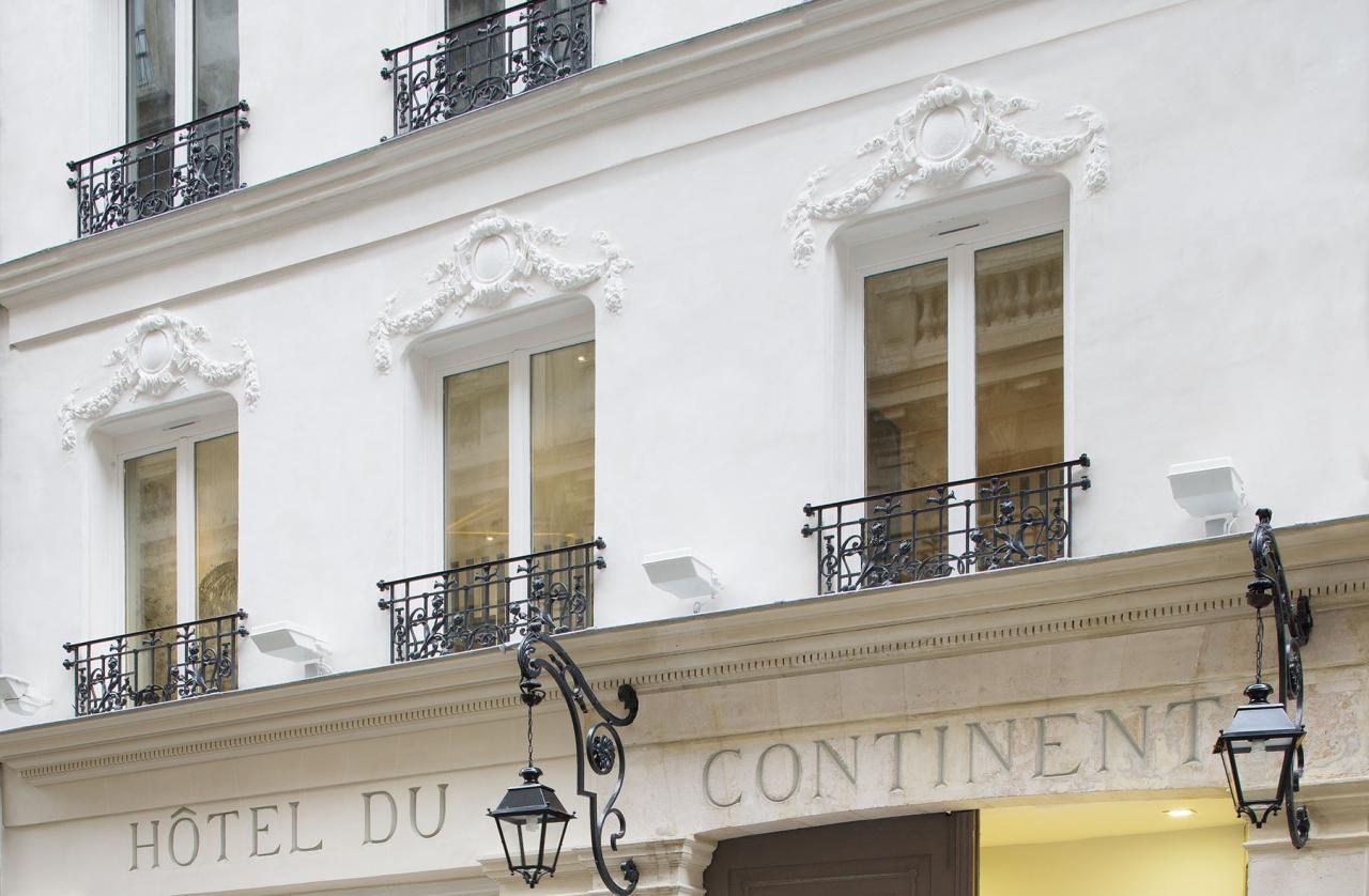 Hotel du Continent - Facade of the hotel