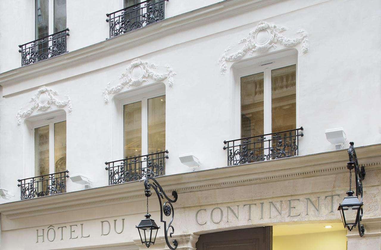 Hôtel du Continent - Façade de l'hôtel